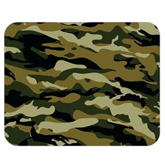 Military Vector Pattern Texture Double Sided Flano Blanket (medium)  by Simbadda