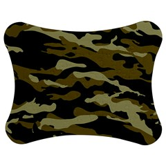 Military Vector Pattern Texture Jigsaw Puzzle Photo Stand (bow) by Simbadda