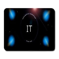 This Is An It Logo Large Mousepads by Simbadda