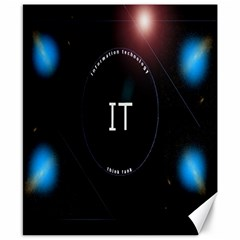 This Is An It Logo Canvas 8  X 10  by Simbadda