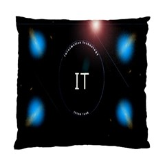 This Is An It Logo Standard Cushion Case (one Side) by Simbadda