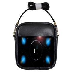 This Is An It Logo Girls Sling Bags by Simbadda