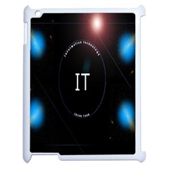 This Is An It Logo Apple Ipad 2 Case (white) by Simbadda