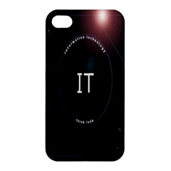 This Is An It Logo Apple Iphone 4/4s Hardshell Case by Simbadda