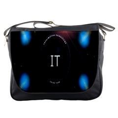 This Is An It Logo Messenger Bags by Simbadda