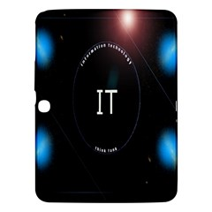 This Is An It Logo Samsung Galaxy Tab 3 (10 1 ) P5200 Hardshell Case  by Simbadda