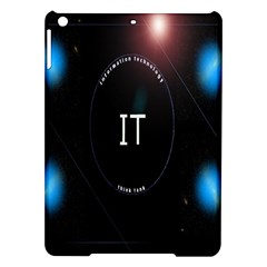 This Is An It Logo Ipad Air Hardshell Cases by Simbadda