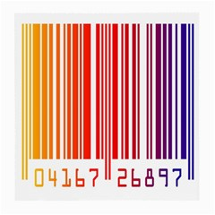 Colorful Gradient Barcode Medium Glasses Cloth by Simbadda