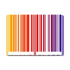 Colorful Gradient Barcode Plate Mats by Simbadda