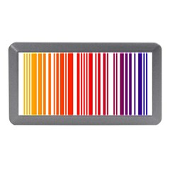 Colorful Gradient Barcode Memory Card Reader (mini) by Simbadda