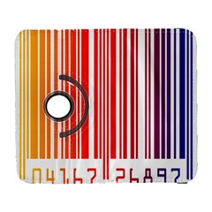 Colorful Gradient Barcode Galaxy S3 (flip/folio) by Simbadda