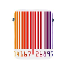Colorful Gradient Barcode Apple Ipad 2/3/4 Protective Soft Cases by Simbadda