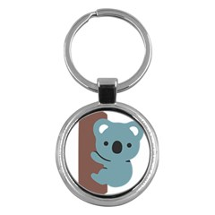 Animal Koala Key Chains (round)  by Alisyart