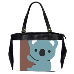 Animal Koala Office Handbags (2 Sides)  by Alisyart
