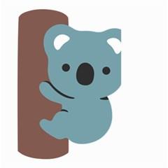 Animal Koala Small Garden Flag (two Sides) by Alisyart