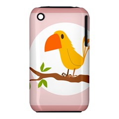Yellow Bird Tweet Iphone 3s/3gs by Alisyart