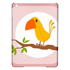 Yellow Bird Tweet Ipad Air Hardshell Cases by Alisyart