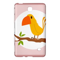 Yellow Bird Tweet Samsung Galaxy Tab 4 (7 ) Hardshell Case  by Alisyart