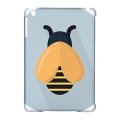 Animals Bee Wasp Black Yellow Fly Apple Ipad Mini Hardshell Case (compatible With Smart Cover) by Alisyart