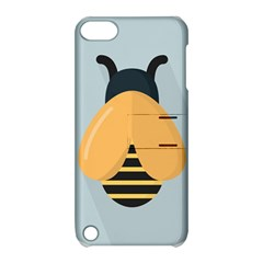 Animals Bee Wasp Black Yellow Fly Apple Ipod Touch 5 Hardshell Case With Stand by Alisyart