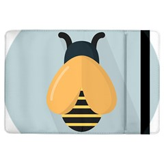 Animals Bee Wasp Black Yellow Fly Ipad Air Flip by Alisyart