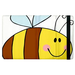 Animals Bee Wasp Smile Face Apple Ipad 2 Flip Case by Alisyart