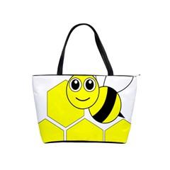 Bee Wasp Yellow Shoulder Handbags by Alisyart