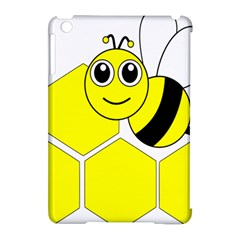 Bee Wasp Yellow Apple Ipad Mini Hardshell Case (compatible With Smart Cover) by Alisyart