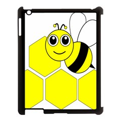 Bee Wasp Yellow Apple Ipad 3/4 Case (black) by Alisyart