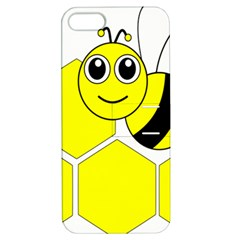 Bee Wasp Yellow Apple Iphone 5 Hardshell Case With Stand by Alisyart