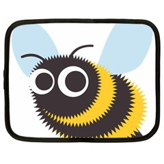 Bee Wasp Face Sinister Eye Fly Netbook Case (large) by Alisyart