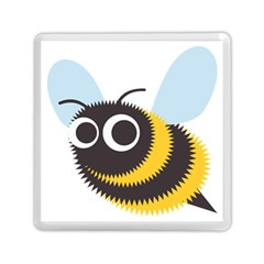Bee Wasp Face Sinister Eye Fly Memory Card Reader (square)  by Alisyart