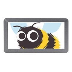 Bee Wasp Face Sinister Eye Fly Memory Card Reader (mini) by Alisyart