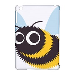 Bee Wasp Face Sinister Eye Fly Apple Ipad Mini Hardshell Case (compatible With Smart Cover) by Alisyart