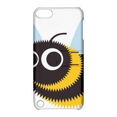 Bee Wasp Face Sinister Eye Fly Apple Ipod Touch 5 Hardshell Case With Stand by Alisyart