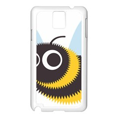 Bee Wasp Face Sinister Eye Fly Samsung Galaxy Note 3 N9005 Case (white) by Alisyart