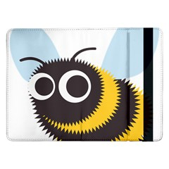Bee Wasp Face Sinister Eye Fly Samsung Galaxy Tab Pro 12 2  Flip Case by Alisyart