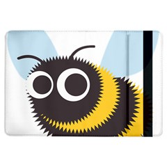 Bee Wasp Face Sinister Eye Fly Ipad Air Flip by Alisyart
