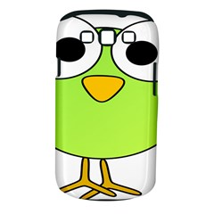 Bird Big Eyes Green Samsung Galaxy S Iii Classic Hardshell Case (pc+silicone) by Alisyart
