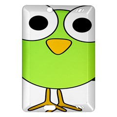 Bird Big Eyes Green Amazon Kindle Fire Hd (2013) Hardshell Case by Alisyart