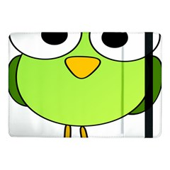 Bird Big Eyes Green Samsung Galaxy Tab Pro 10 1  Flip Case by Alisyart
