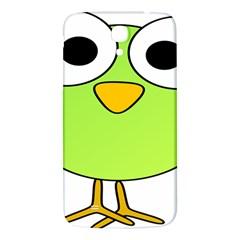 Bird Big Eyes Green Samsung Galaxy Mega I9200 Hardshell Back Case by Alisyart