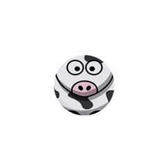 Animals Cow  Face Cute 1  Mini Buttons by Alisyart