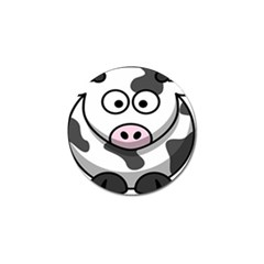 Animals Cow  Face Cute Golf Ball Marker by Alisyart