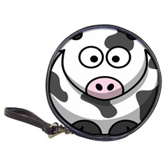 Animals Cow  Face Cute Classic 20 Cd Wallets by Alisyart