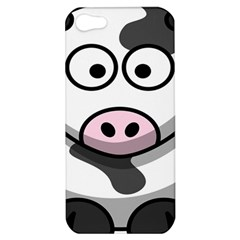 Animals Cow  Face Cute Apple Iphone 5 Hardshell Case by Alisyart