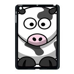 Animals Cow  Face Cute Apple Ipad Mini Case (black) by Alisyart