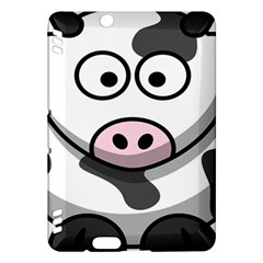 Animals Cow  Face Cute Kindle Fire Hdx Hardshell Case by Alisyart