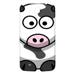 Animals Cow  Face Cute Samsung Galaxy Mega I9200 Hardshell Back Case by Alisyart