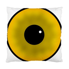 Big Eye Red Black Standard Cushion Case (two Sides) by Alisyart